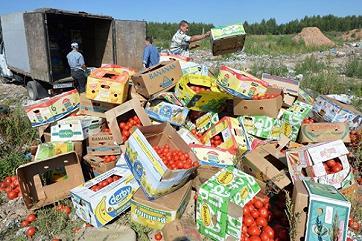 Путин назвал уничтожение санкционных продуктов поддержкой аграриев